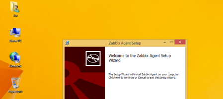 Zabbix agent unter Windows an Zabbix Server anbinden